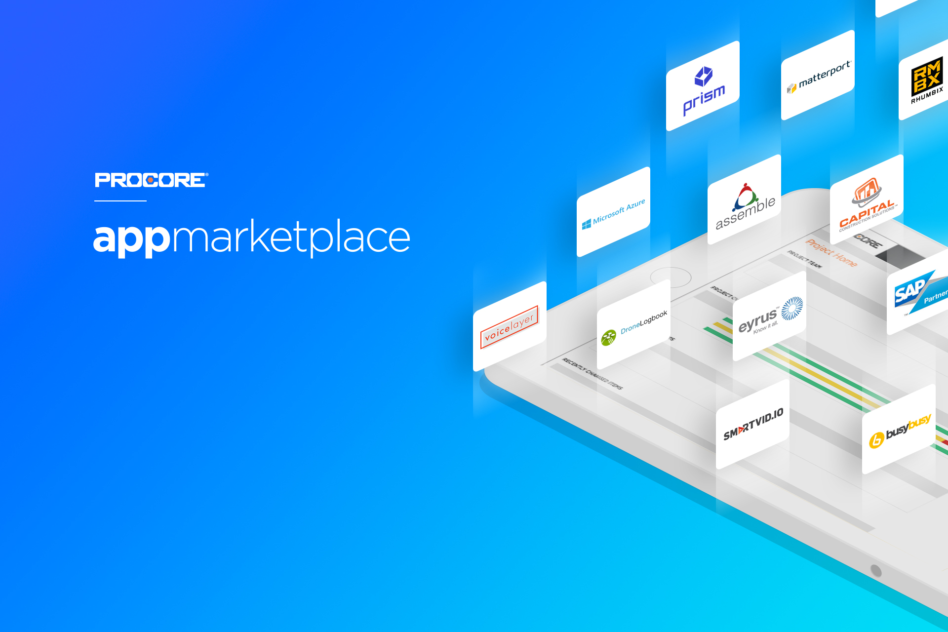 App marketplace page 1 news and updates from procore for House construction app