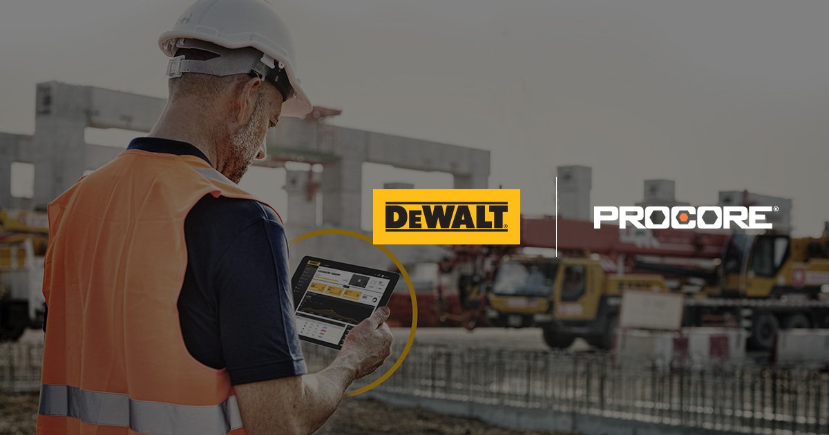 Working To Bring Better Connectivity to Construction with DEWALT