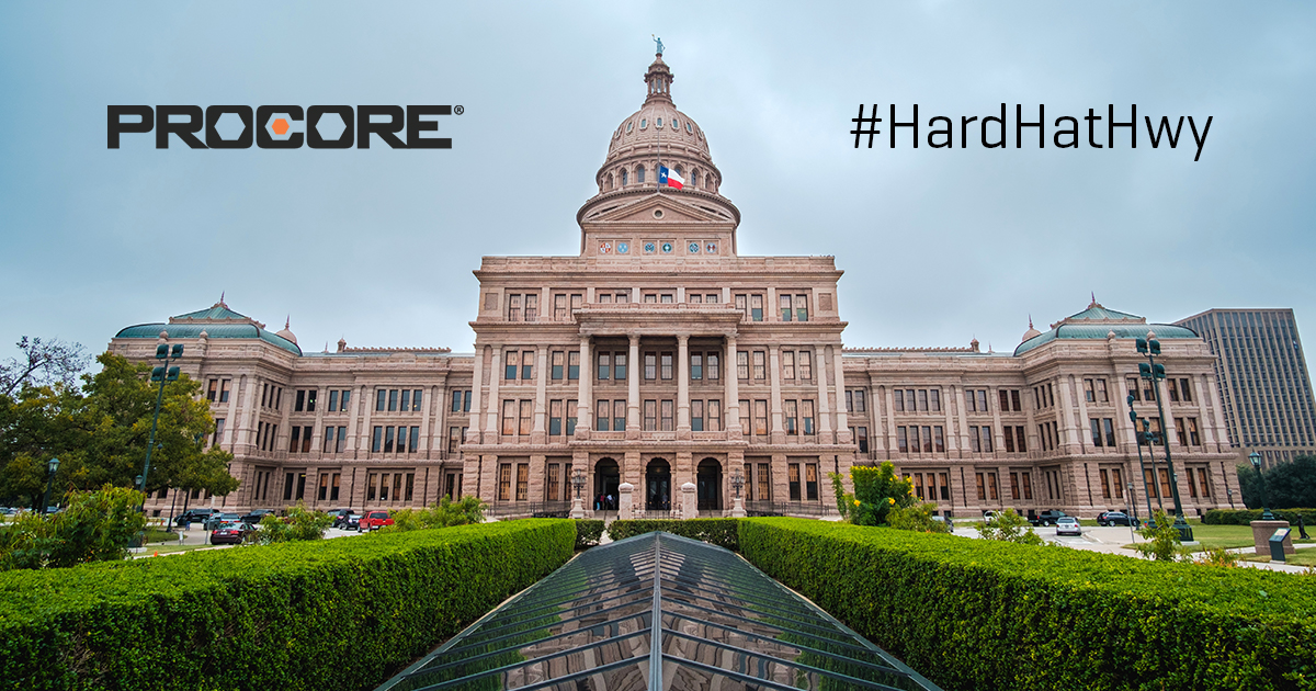 "Procore Hits The Road On The ""Hard Hat Highway"""