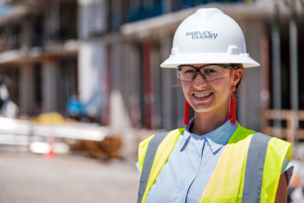 On the Job Site with Lyndsay Woods of Harvey Builders