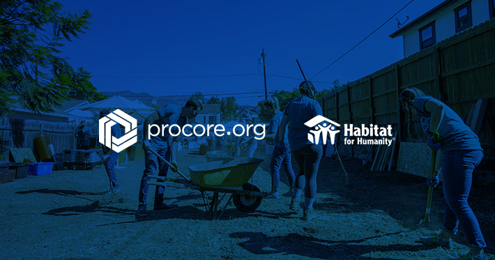 Procore.org Partners with Habitat for Humanity to Provide Construction Software
