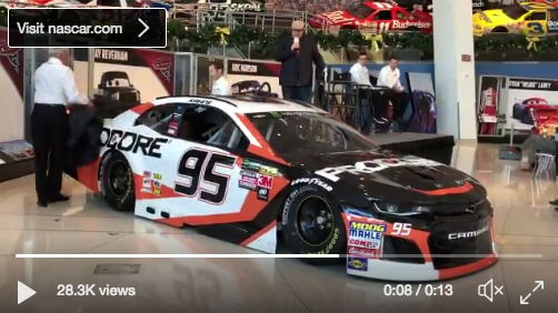 Leavine family racing unveiling Kasey Kahne's car