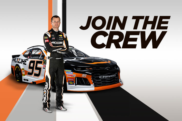 Join The Procore 95 Crew For Exclusive Behind-the-Scenes Action During the 2018 NASCAR Season